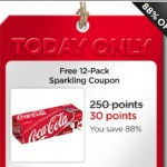 *HOT* My Coke Rewards FREE 12 pk Only 30 pts – Today Only!