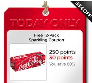 MyCokeRewards Free Sparkling 12-pack
