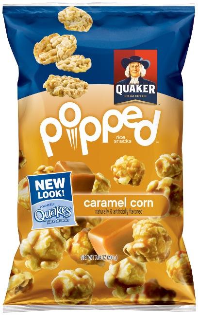 Caramel Quaker Popped