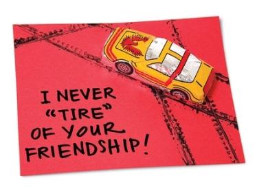 Funny Car Valentine