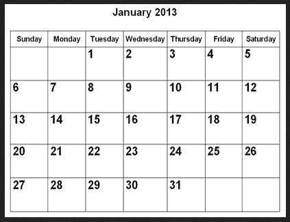 January Quickstart