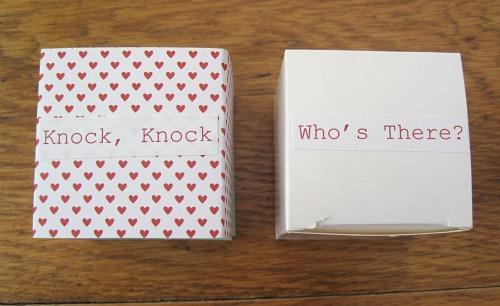 Knock-Knock Boxes