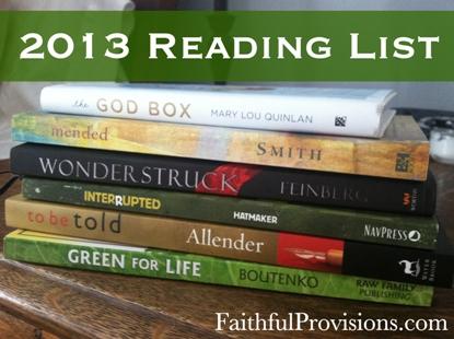 My 2013 Reading List