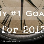 My #1 Goal for This Year
