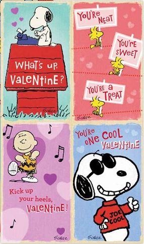 Peanuts Boxed Valentines