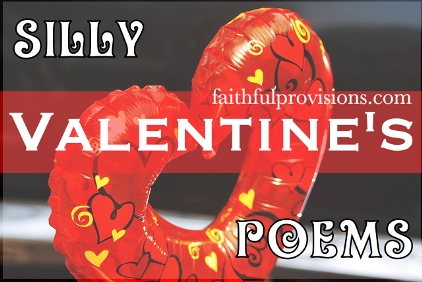 Silly Poems Valentines