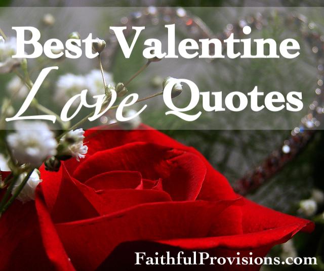 Valentineu0027s Love Quotes