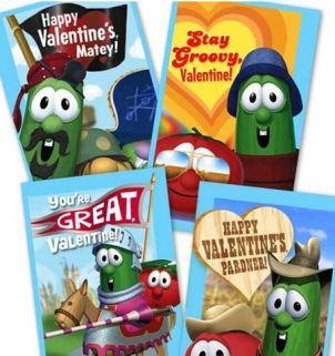 VeggieTales Valentines