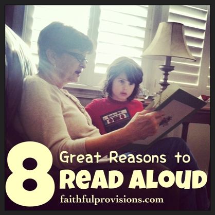 8 Great Reasons to Read Aloud