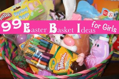 99 Easter Basket Ideas for Girls