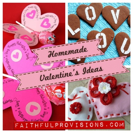 Homemade Valentines Ideas