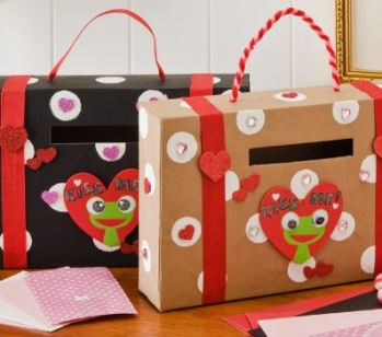 Suitcase Valentine Boxes