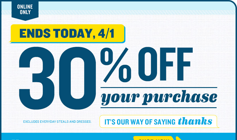 Old Navy Coupons Save 15 Off 50 Or 30 Off Any Purchase Ends Today Faithful Provisions