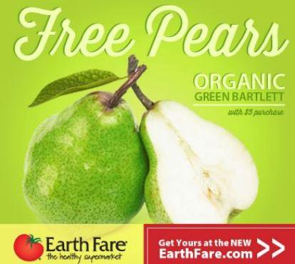 Free Organic Pears