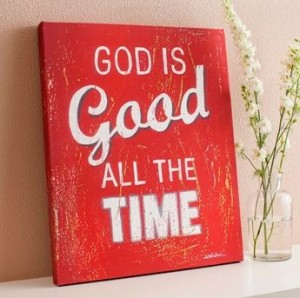 God is Good Wall Art