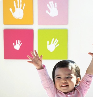 Handprint Wall Art