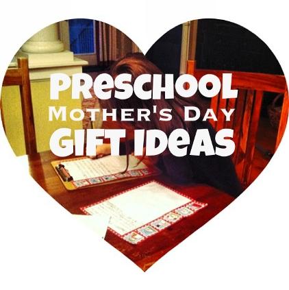 Preschool Mother's Day Gift Ideas