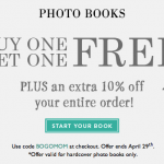 FREE Photo Book For Mother's Day + 10% Off From My Publisher
