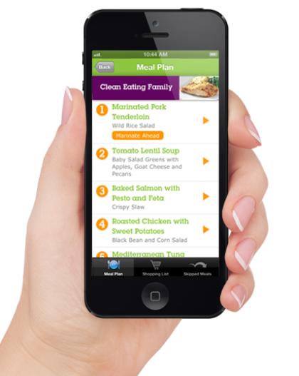 eMeals iPhone App