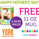 Free Personalized Father's Day Mug From York Photo