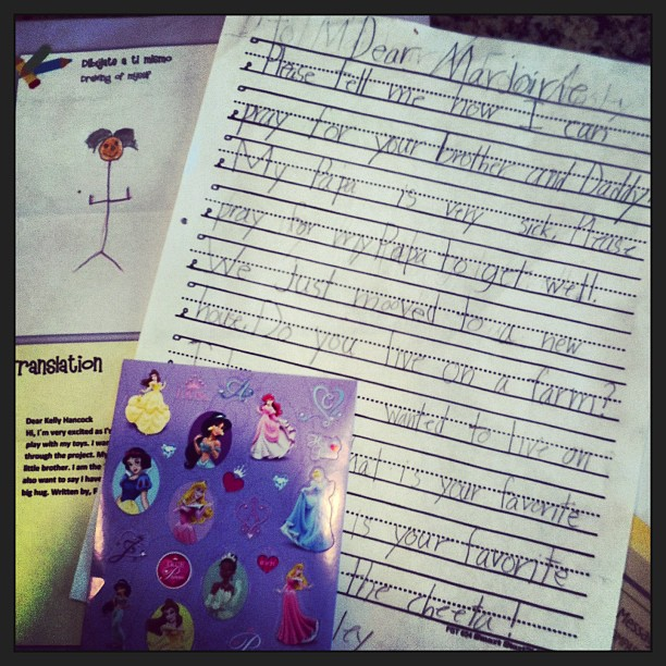 Compassion Letter from a Child