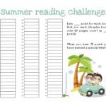 FREE Summer Reading Charts