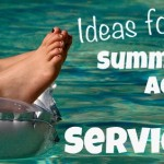 Summer Acts of Service: Give Away Gently Used Books and Textbooks