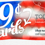 Memorial Day Sale: $.99 Cards at Cardstore (Today Only!)
