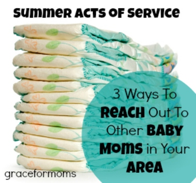3 Ways to Reach Out to Moms