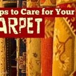 5 Tips to Care for Your Carpet