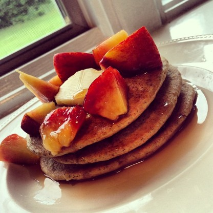 Recipe for Whole Wheat Pancakes