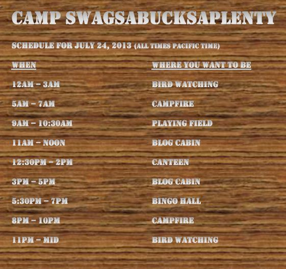 swagbucks-Camp-Schedule