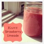 Easy Strawberry Limeade