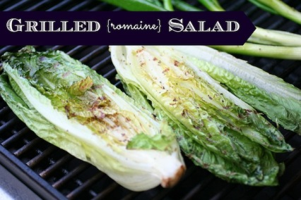 Grilled Salad Romaine