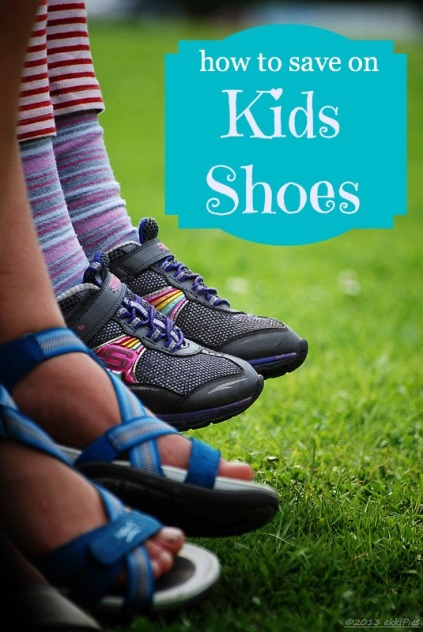 How to Save Money on Kids Shoes