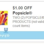 Rare $1/2 Popsicle Coupon Available Now