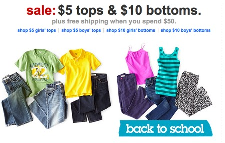 fc0cbe9629efe Target Back To School Deal   5 Kids Tops and  10 Kids Jeans ...