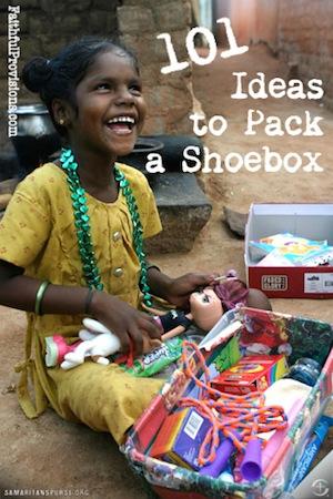 101 Shoebox Ideas