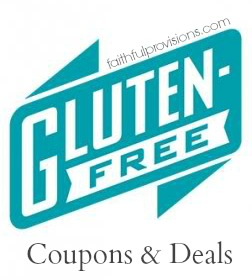 Gluten Free Coupons and Deals