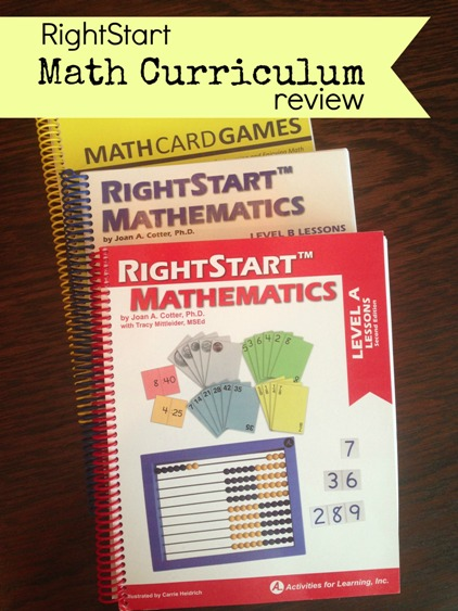 RightStart Match Curriculum Review
