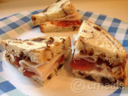 eMeals Turkey Sandwich