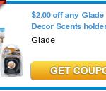 Glade Car Scents Free + Moneymaker at Walgreens!