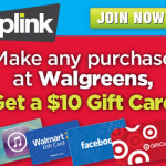 Walgreens: Get a FREE $10 Gift Card With ANY Purchase From Plink