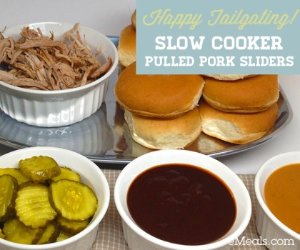 Slow Cooker Pulled Pork Sliders - FaithfulProvisions.com