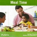 Publix Grocery Advantage Flyer: Meal Time 10/26 – 11/15