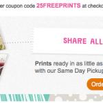 Walgreens: 25 FREE 4×6 Photo Prints