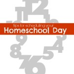 How To Schedule Your Homeschooling Day