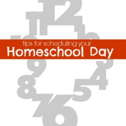 Tips for Scheduling Your Homeschool Day