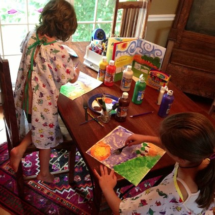 What I Learned about Doing Picture Studies in Our Homeschool