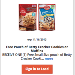 FREE Betty Crocker Cookies or Muffins at Kroger (Today Only!)